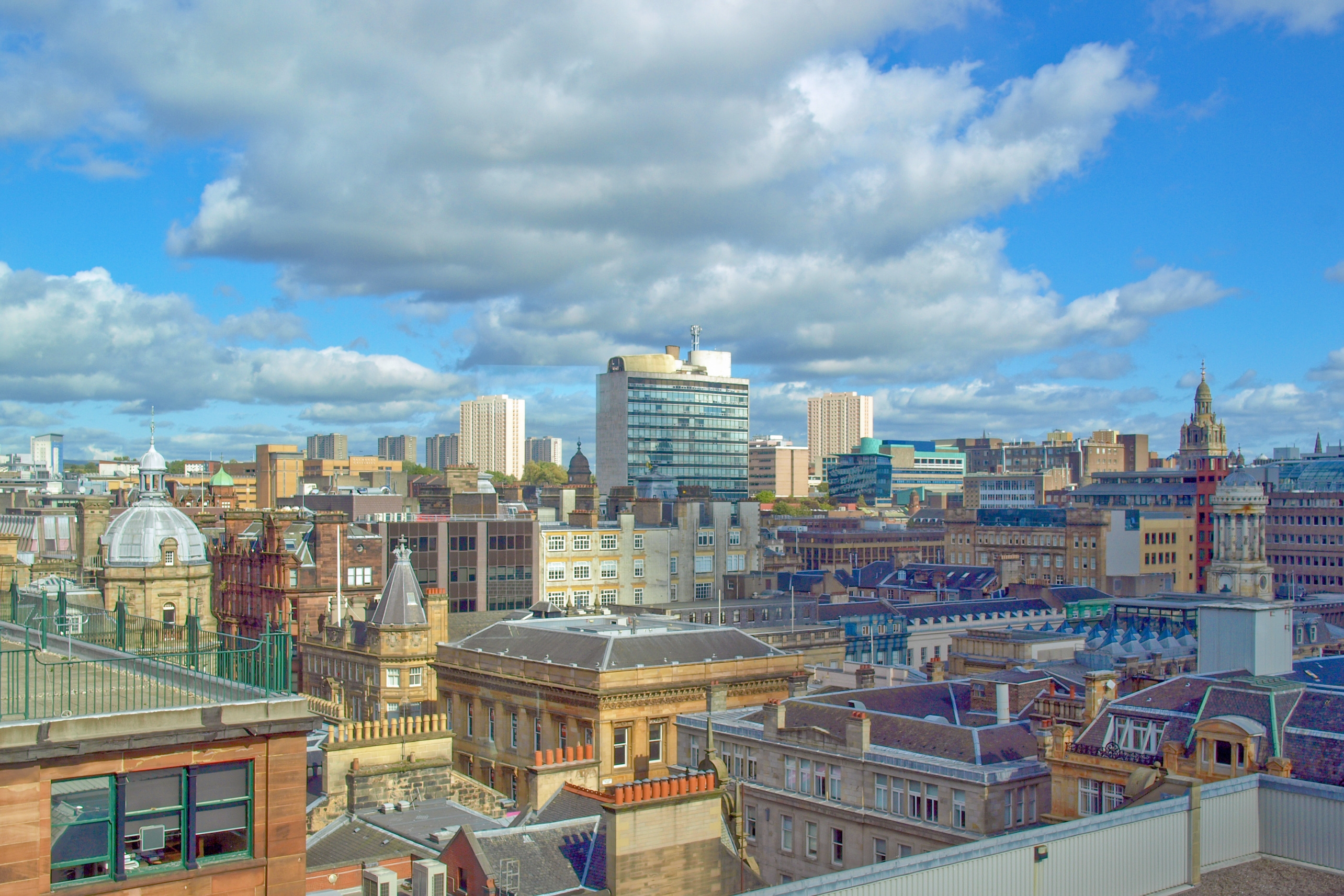 Our offices are right in the heart of Glasgow City Centre.