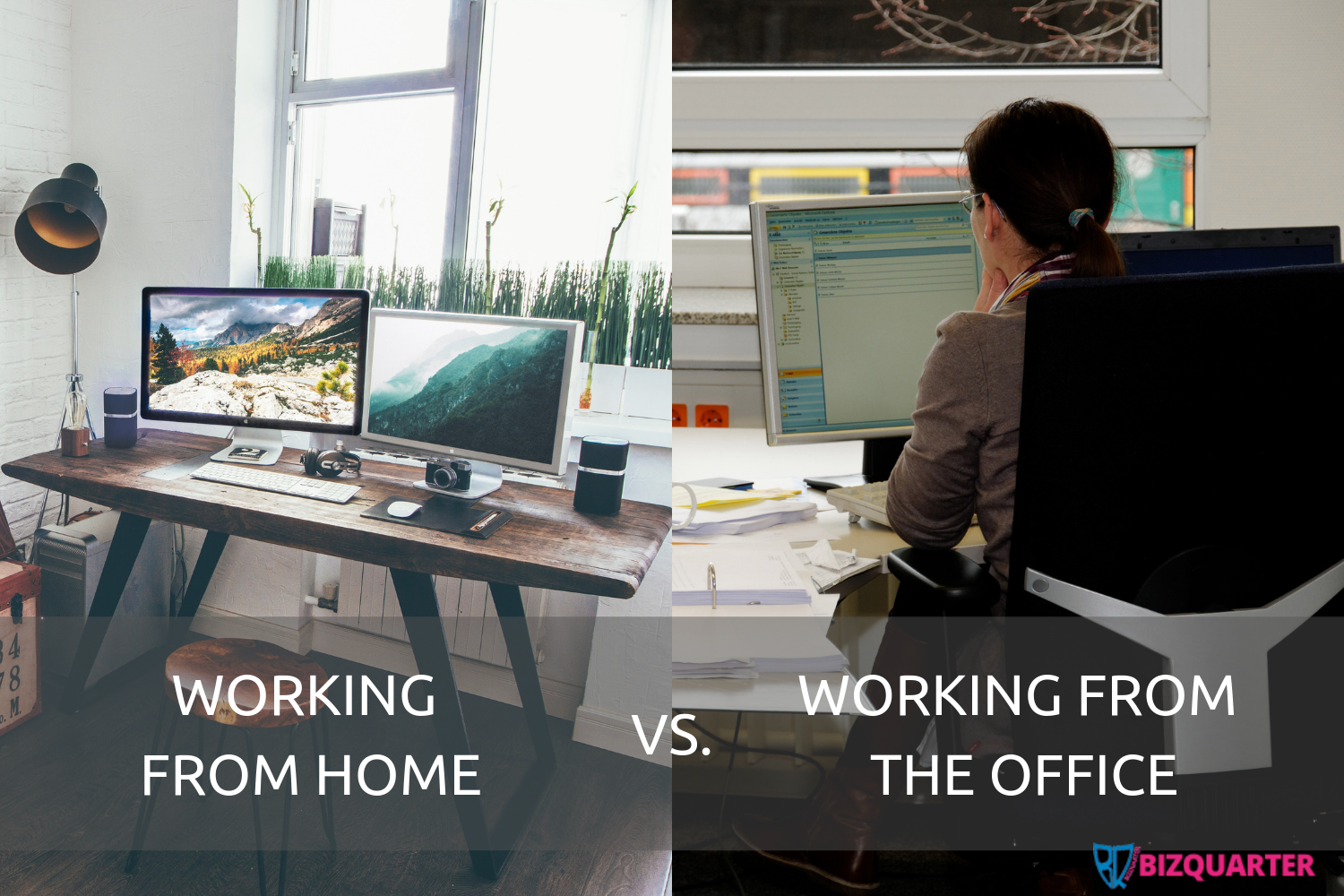 Working from home vs. working from the office: a comparison