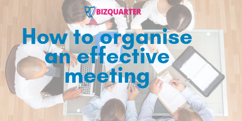 How to organise an effective meeting